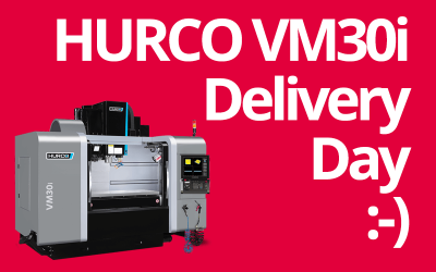 4th HURCO milling machine delivered