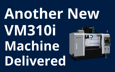 Another New Hurco VM310i Machine Delivered