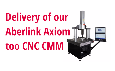 Aberlink Axiom too CNC CMM is Here